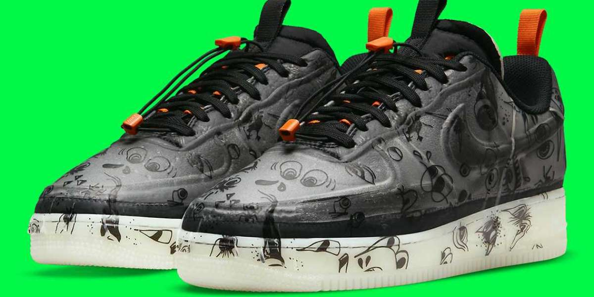 Best Selling Running Shoes Nike Air Force 1 Experimental Halloween
